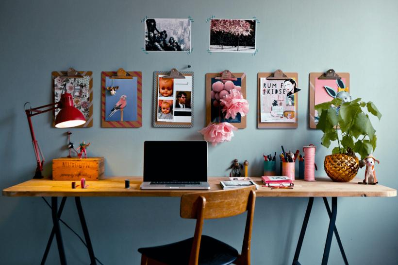 Estallidos de Pink Space turística - Personalizar y excitar a su espacio con una decoración única.