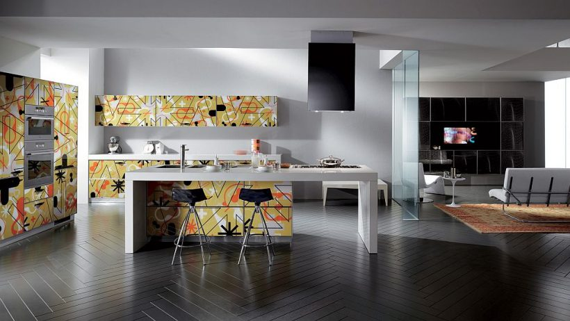 Crystal Living and Kitchen: Glossy Designs Display Inspirerad screentryck!