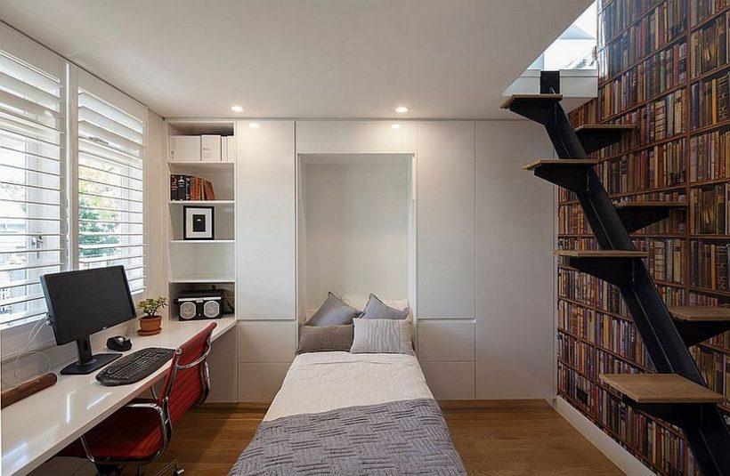 Encontrar el rincón derecho de transformarla en una habitación de huéspedes de invitación