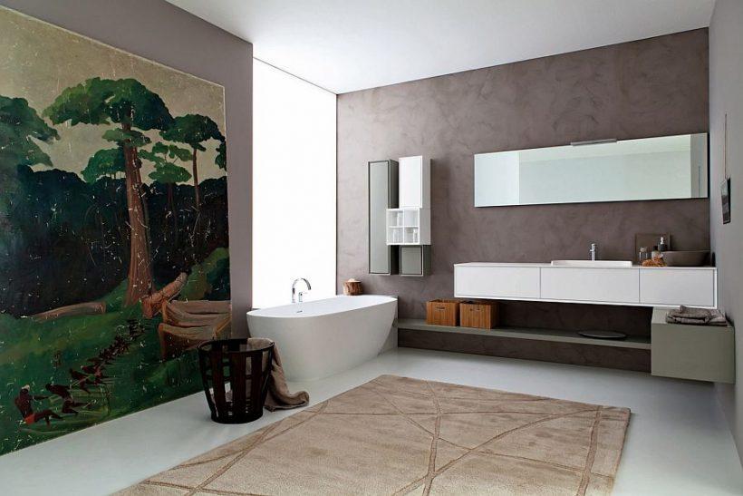 Libera: Φέρνοντας Χειροτεχνία Snaidero να Posh μοντέρνα μπάνια