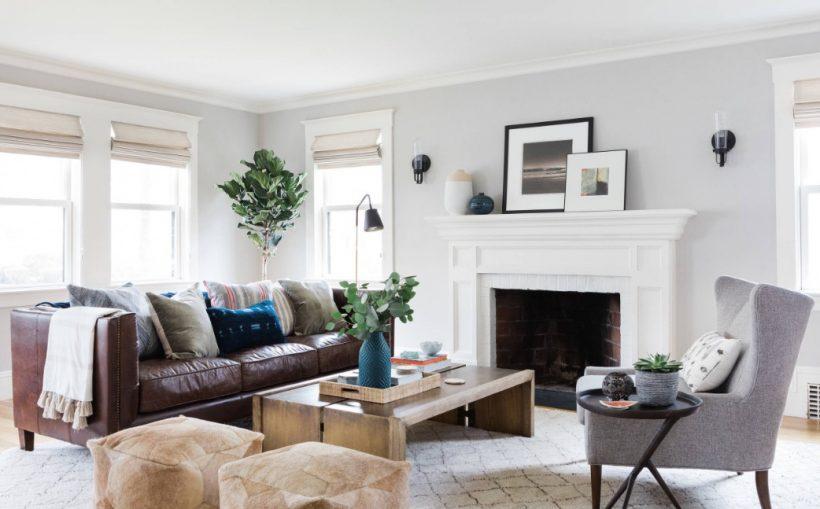 Mantenga un ojo en la proporción de sus muebles