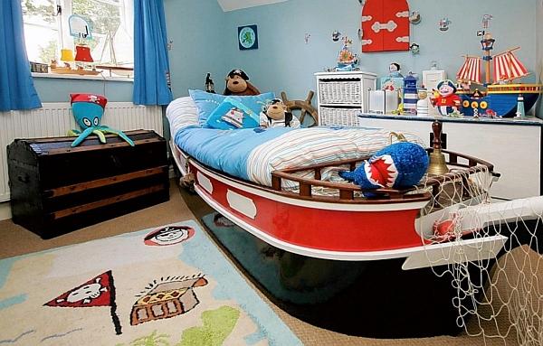 Piratas inspirado habitación de los niños