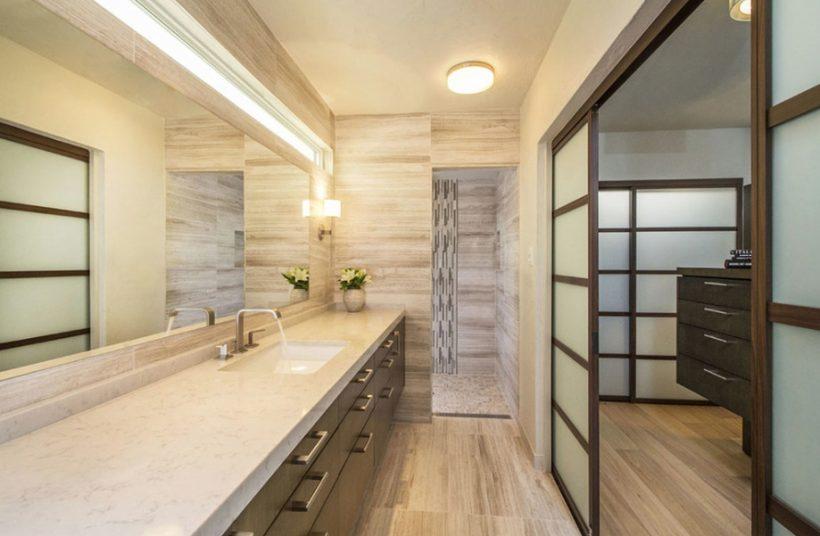 Cómo crear su propio estilo japonés Cuarto de baño ...