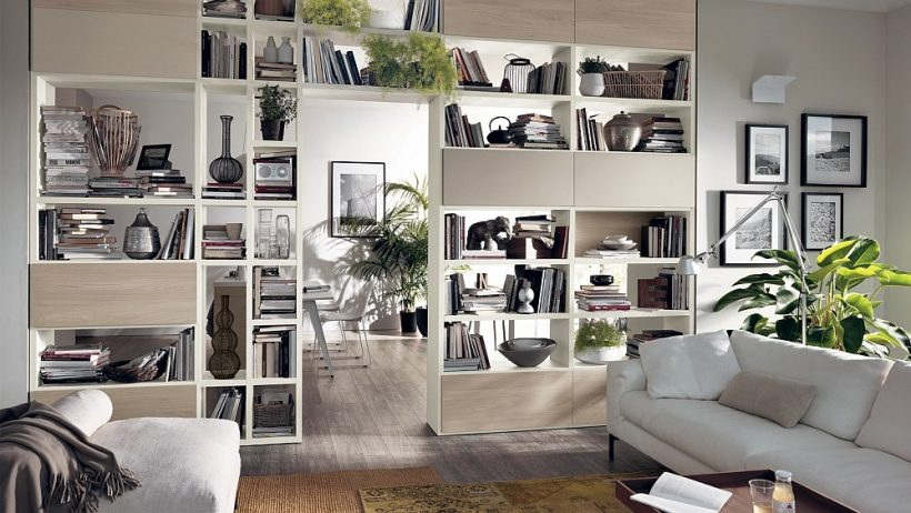 12 Living Dynamic Compositions Chambre avec Versatile Wall Systems Unit