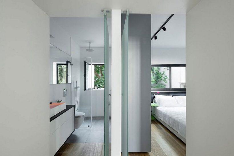 Klaasseinad eraldi magamistuba alates vannituba