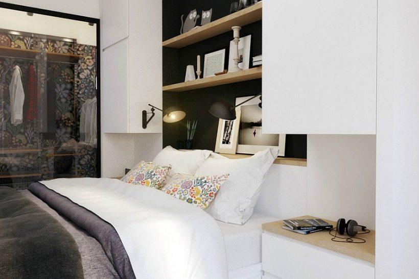 idea de la iluminación del aplique para el dormitorio