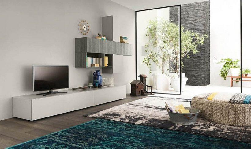 Smart B_Green dzīvojamā istaba vienības piedāvāt kompozicionālo brīvību