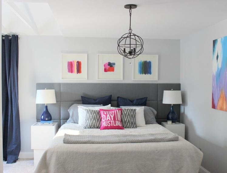 Forget tradycyjną formę rozszerzając wezgłowie przeszłości stronach ramy łóżka.