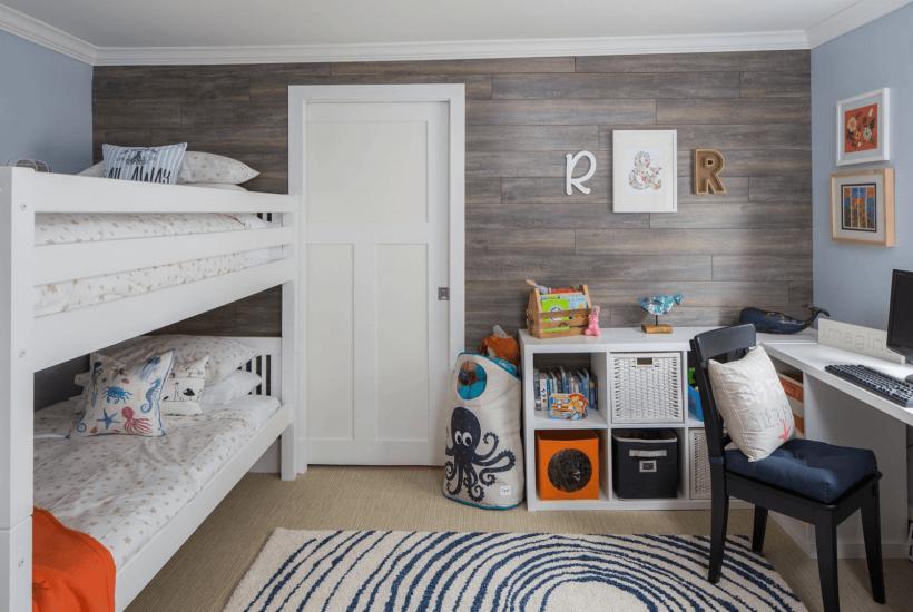 Ideias Criativas Quarto compartilhadas para quarto um moderno Kids'