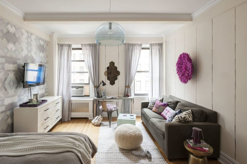 12 Perfect Studio Apartment Layouts å inspirere