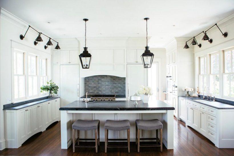 Собствена кухня с талк плотове