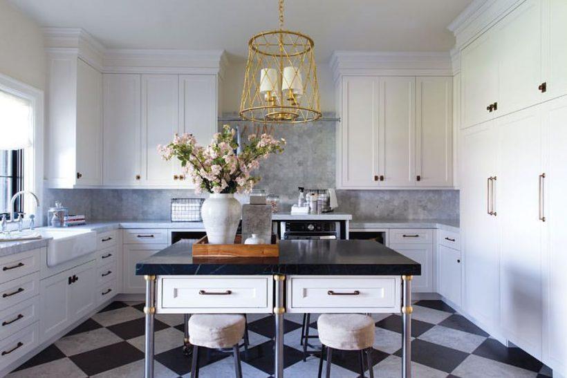 gabinetes de cocina blancos con encimeras de esteatita Las Encimeras De Esteatita Para Inspirar A Su Diseo De La