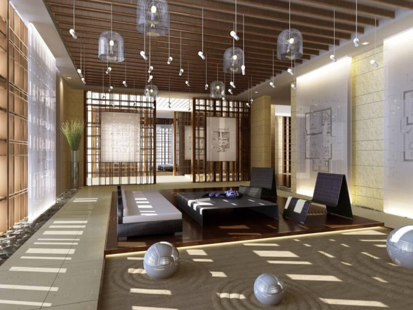 5 moduri de a obține o camera de zi Zen
