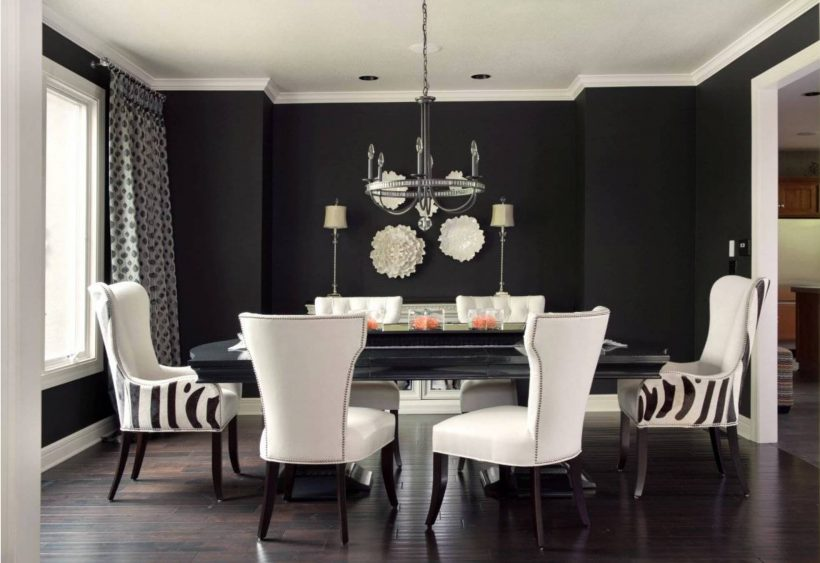 10 Kreative Ideer til Dining Room Walls