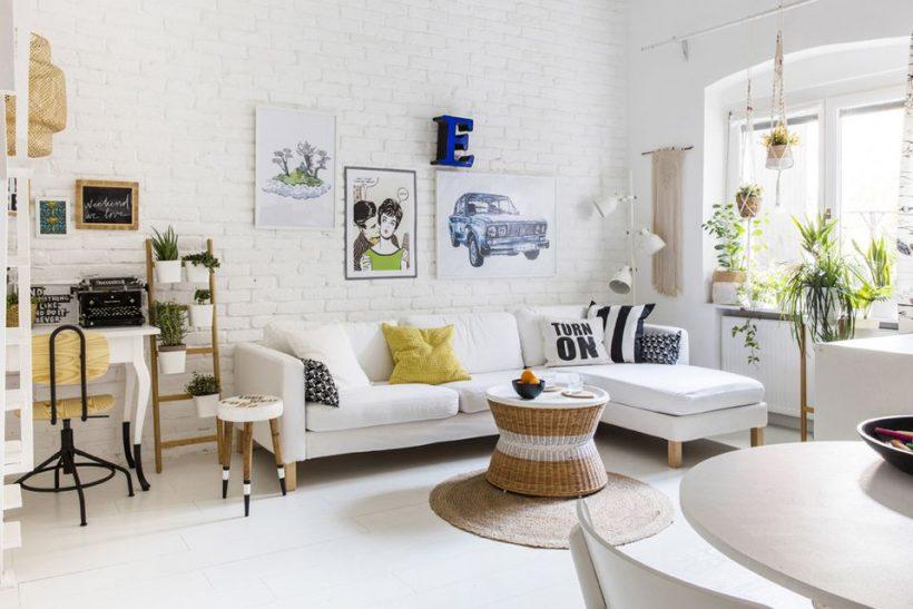 Как украсить небольшую гостиную