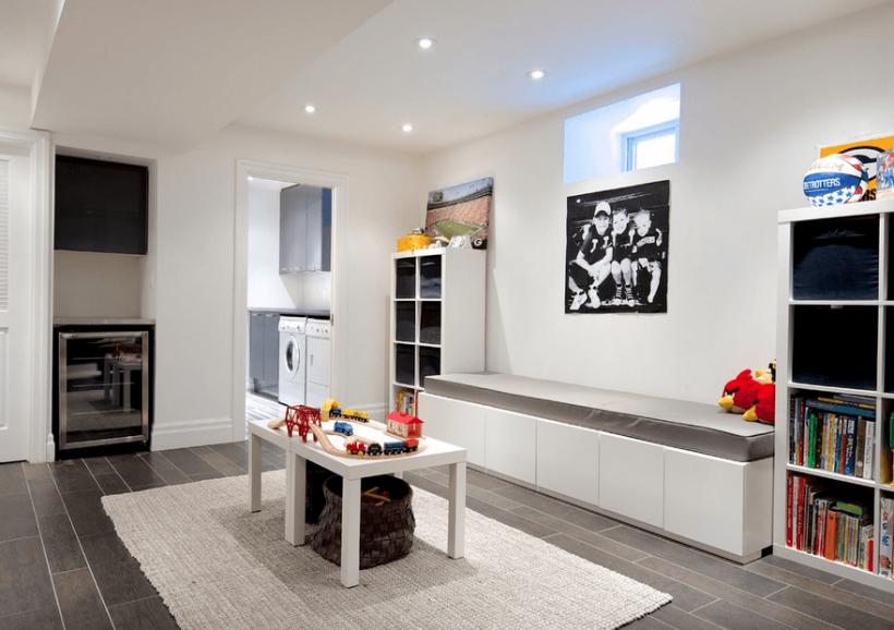 Keller Deko-Ideen ein multifunktionales Wohnraum zu schaffen