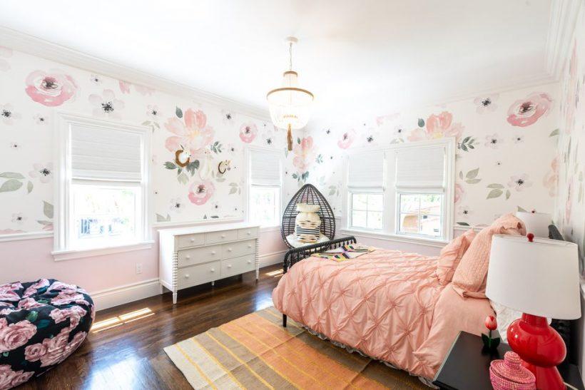 Stiilne Teen Girl magamistoaga Ideed