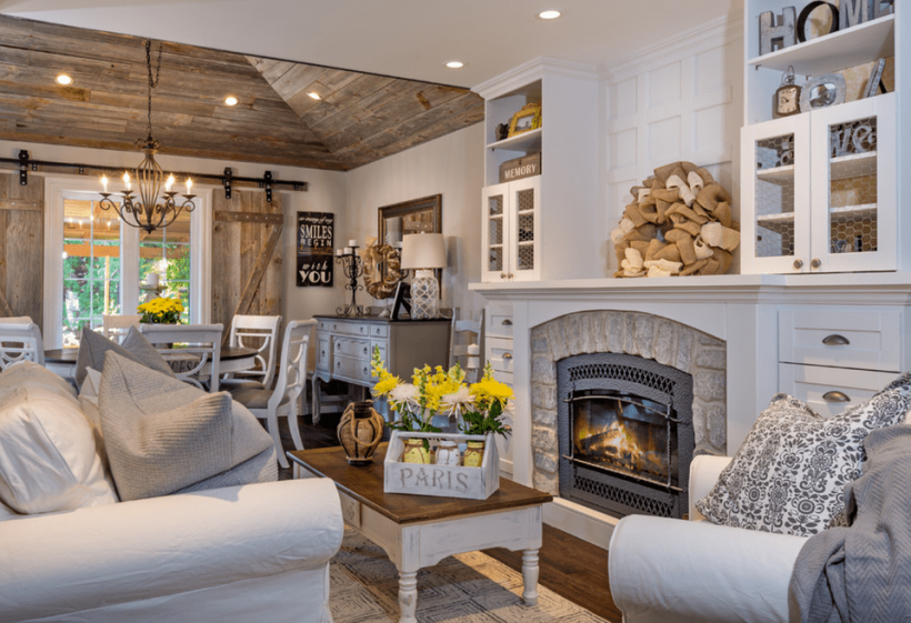 Classic farmhouse style Incorporate Authentic Features
