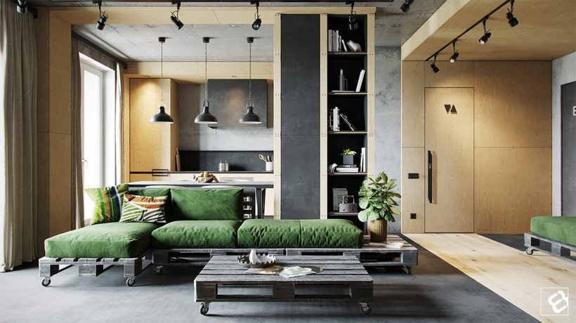 Industrial Design Style Living Room: The Essential Guide