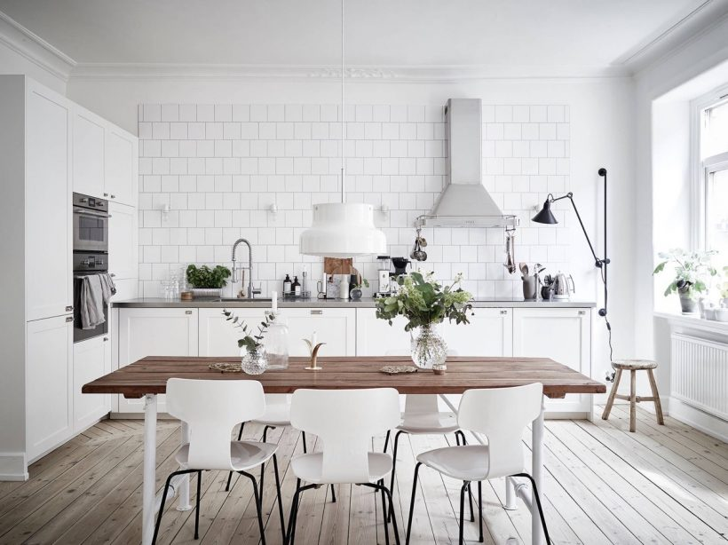 Beautiful Scandinavian Kitchens Design: Idéer och Inspiration