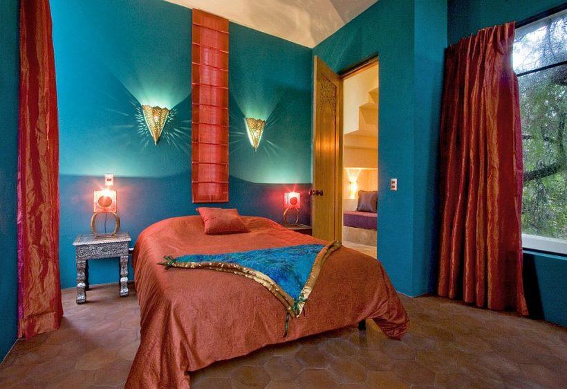 Важко припустити колір в цій спальні