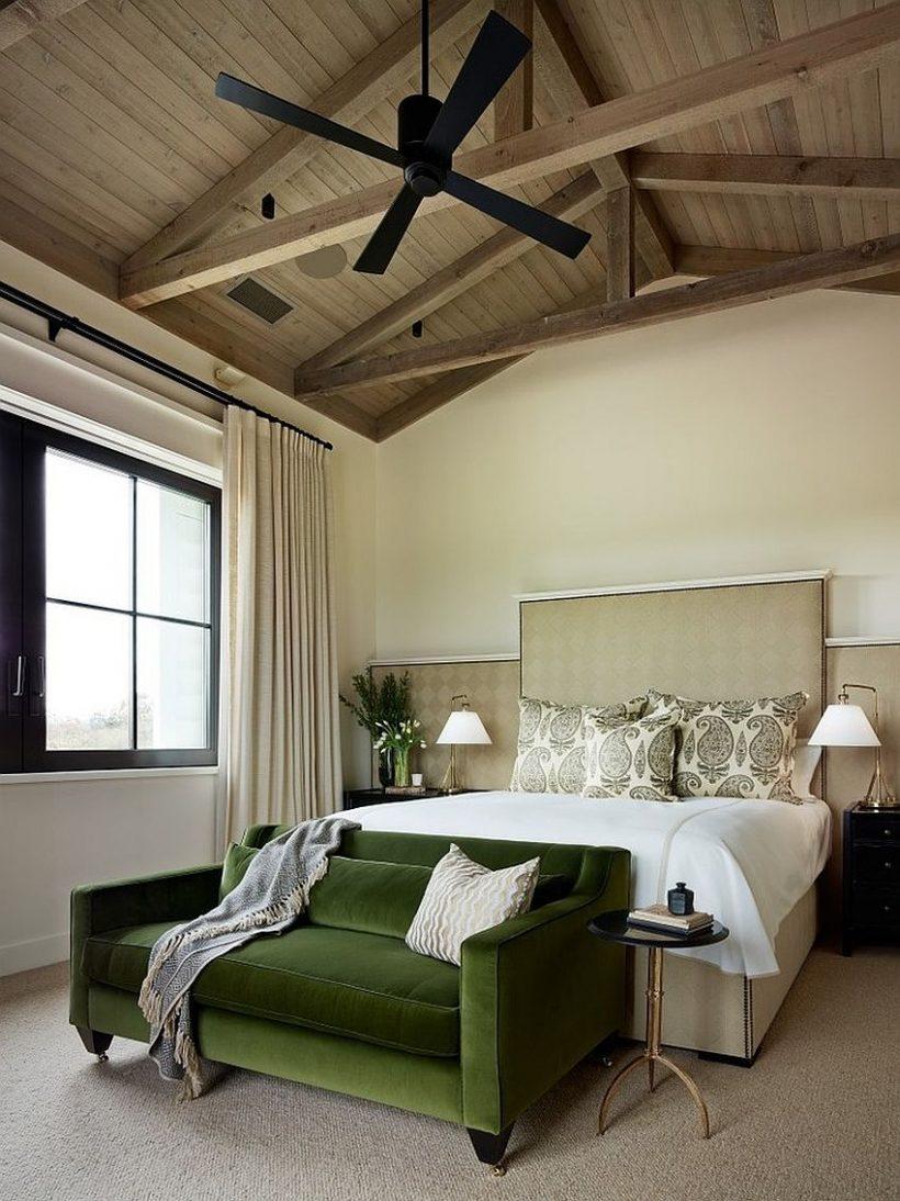 Використовуйте декор додати коштовність тонированной краси в спальню